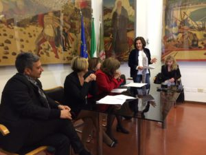 Presentazione del progetto a Palazzo Donini